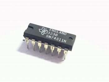 74S11 triple 3 input positive and gate