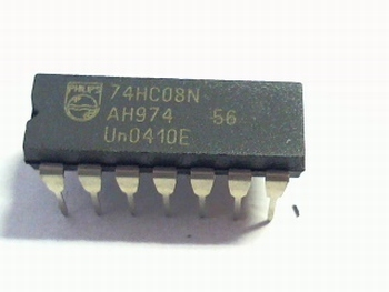 74HC08 Quad 2-Input AND