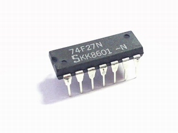 74F27N Triple 3-Input NOR Gate
