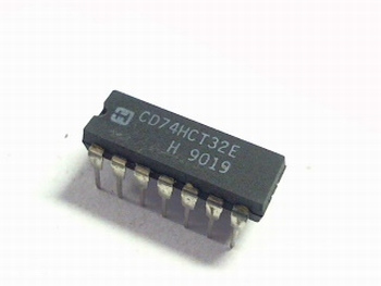 74HCT32 Quad 2-input OR gate