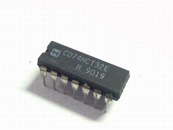 74HCT32 Quad 2-input OR gate