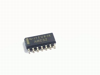 74AHC32D Quad 2-input OR gate