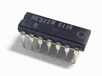 NE522N High-speed dual-differential comparator/sense amp