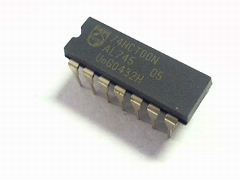 74HCT00 Quad 2 i/p NAND gate