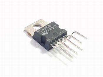 TDA8136 dubbelle 12V spanningsregelaar