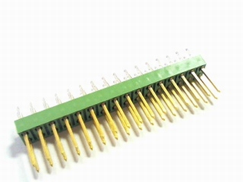 Double header 2x16 pins - 2.54mm straight