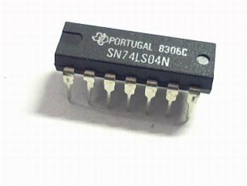 74LS04 Hex Inverter DIP14