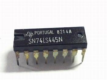74LS445 BCD to decimal decoder/driver