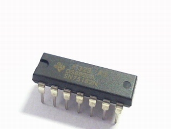 75182 Dual Differential Line Receiver, 14 Pin DIP