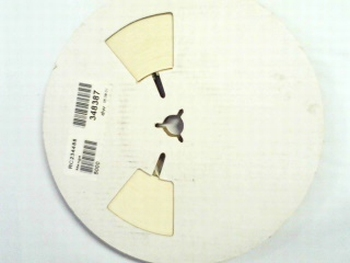 Reel with 10.000 SMD resistors 603- 162 Ohm 1%