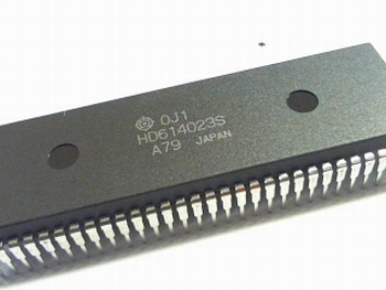 HD614023S CMOS 4 BIT Single CHIP Microcomputer