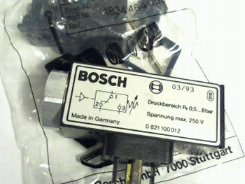 BOSCH SOLENOID VALVE SWITCH 0-821-100-012