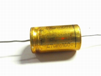 Electrolytic capacitor  47 uF 160Volts