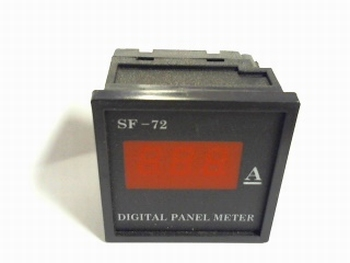 Digital panelmeter 0-5 amps DC