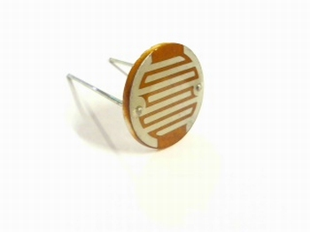 LDR Light dependant resistor 20mm