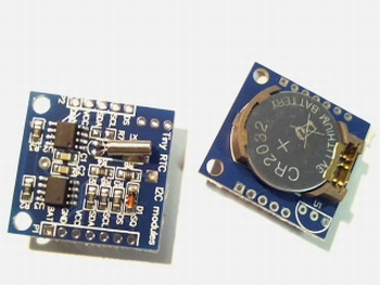 DS1307 RTC I2C module with 24C32 memory and battery