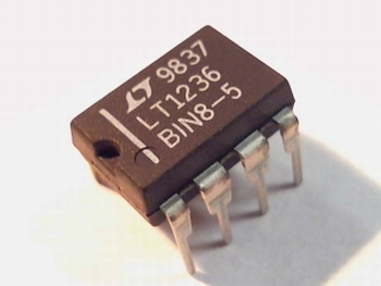 LT1236-5 DIP 8 Precision reference 5 ppm 10 V