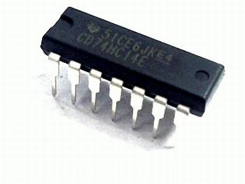 74HC14 Inverter Schmitt Trigger DIP16