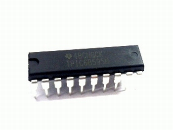 TPIC6B595N 8 bit shift register