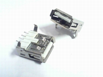 USB A type SMT 4 pins for SMD