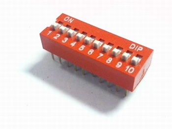 Dip switch 10 in 1