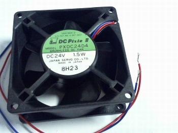 ventilator 80x80x32mm 24 volt