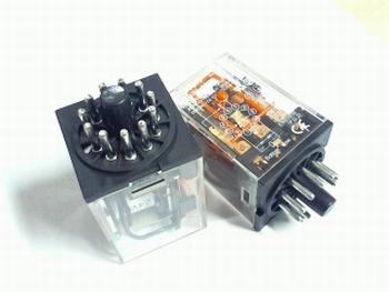 RelayOmron MK3PI-N 24 volt DC 10A 3PDT