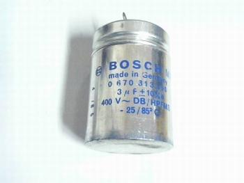 Startcapacitor 3 uf 400V Bosch