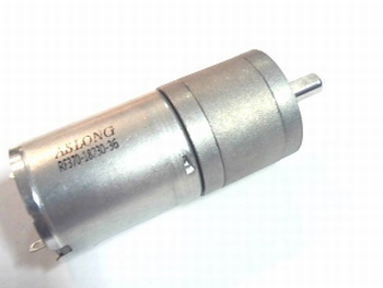 DC motor 3-9 Volt with delay 77 rpm