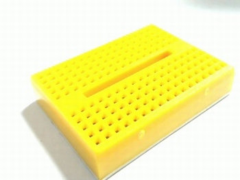 Breadboard mini geel