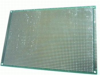 Test PCB 200mm X150mm islands doublesided