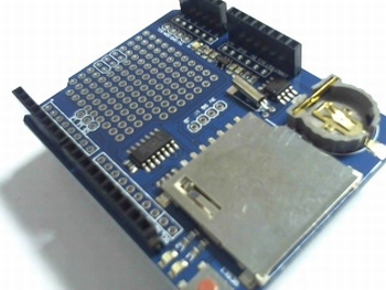 Datalogging module shield for Uno