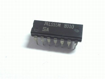 74LS55 2-WIDE 4-INPUT AND-OR-INVERT GATE