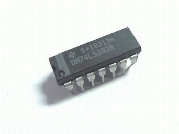 74LS393 Dual 4-bit Binary Counter