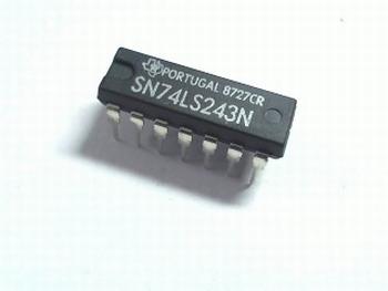 74LS243 Quad Transceiver Tri-State