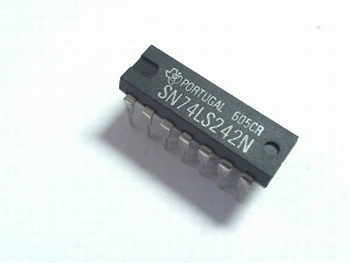 74LS242 QUAD BUS TRANSCEIVER