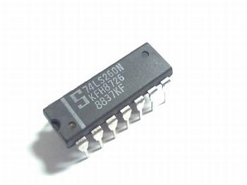 74LS260 Dual 5-Input NOR Gate