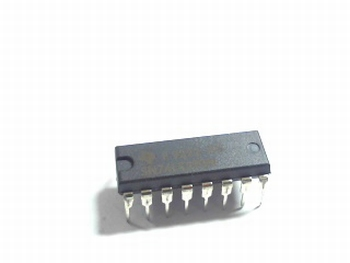 74LS590 8-bit Binary Counter with Output Registers