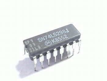74LS298 Quad 2-In Multiplexer w/Output Register