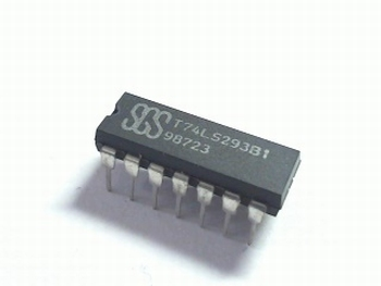 74LS293 Decade and 4-bit Binary Counter  DIP14