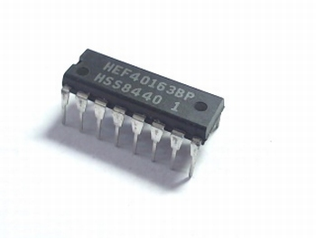 HEF40163 Synchronous Programmable 4-Bit Counters DIP