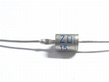 ZD15 diode 15 volt 1.3 Watt