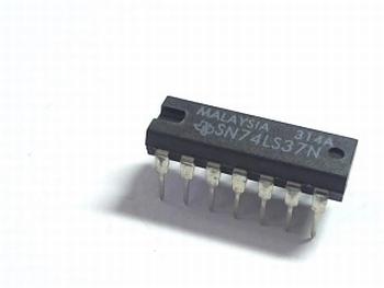 74LS37 QUAD 2-INPUT NAND BUFFER
