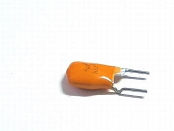Tantaal condensator 4,7uf 10v