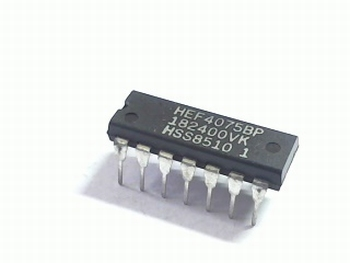 HEF4075 2x buffer triple input OR Gate