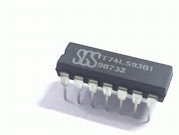 74LS93 4-bit Binary Counter