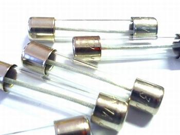 Glasfuse 6x32 1A 250V FAST