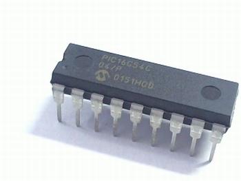 PIC16C54C-04/P - DIP18