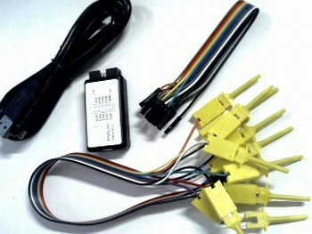 USB LOGIC ANALYZER 24 Mhz 8 channels
