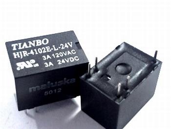 Relay Tianbo HJR-4102E-L-24 volt
